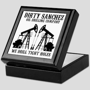 dirty sanchez black Keepsake Box