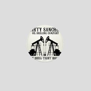 dirty sanchez black Mini Button