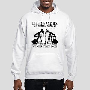 dirty sanchez black Hooded Sweatshirt