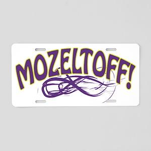 mozeltoff Aluminum License Plate