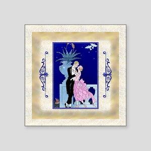 "Keepsake-12 Dec Barbier-Lov Square Sticker 3"" x 3"""