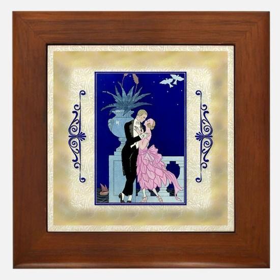 Keepsake-12 Dec Barbier-Love- Framed Tile