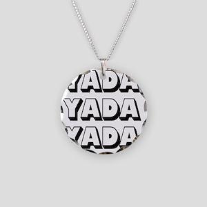 Yada Necklace Circle Charm