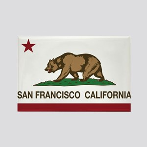 california flag san francisco Magnets