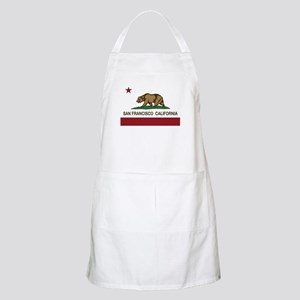 california flag san francisco Apron