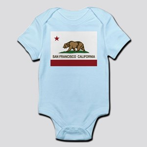 california flag san francisco Body Suit