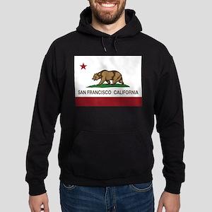 california flag san francisco Hoodie