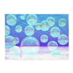 Frosty Clarity Abstract 5'x7'Area Rug