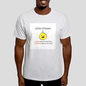 Little Chicken Ash Grey T-Shirt