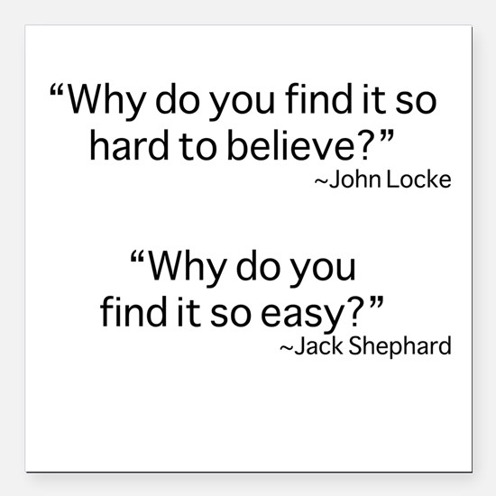 "why do you find it? Square Car Magnet 3"" x 3"""
