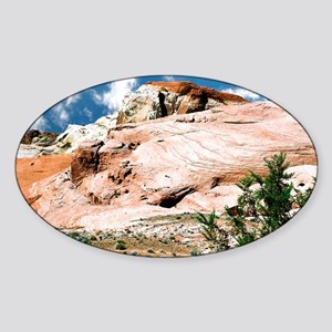 Valley of Fire State Park, Nevada,  Sticker (Oval)