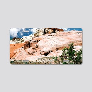 Valley of Fire State Park,  Aluminum License Plate