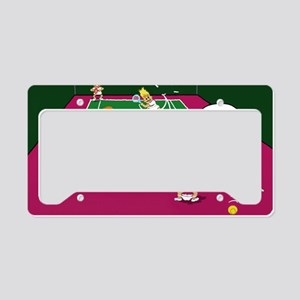 3-let License Plate Holder