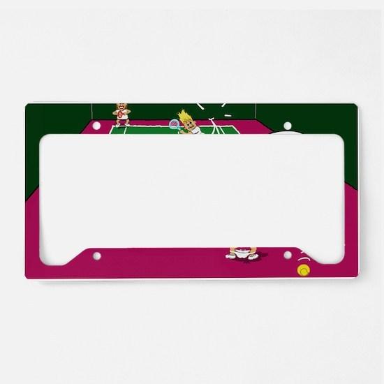 3-let License Plate Holder