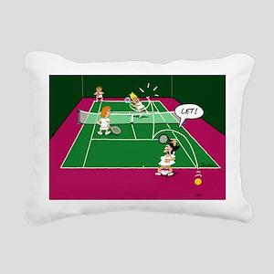 3-let Rectangular Canvas Pillow