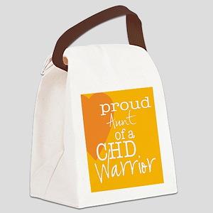 proud aunt copy Canvas Lunch Bag