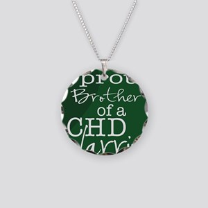 proud brother copy Necklace Circle Charm
