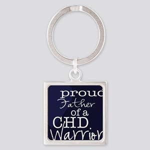 proud father copy Square Keychain