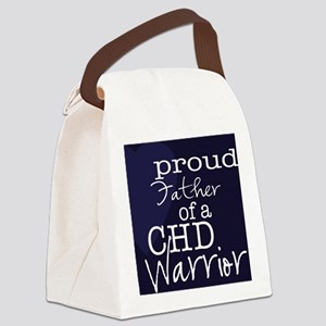 proud father copy Canvas Lunch Bag