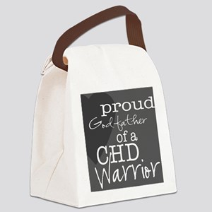 proud godfather copy Canvas Lunch Bag