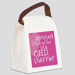 proud godmother copy Canvas Lunch Bag