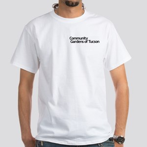 """""""Happy people.."""" White T-Shirt"""