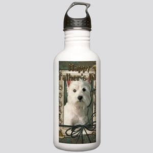 Stone_Paws_West_Highla Stainless Water Bottle 1.0L