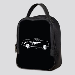Grease Lightning Car Neoprene Lunch Bag