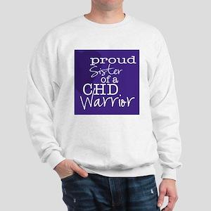 proud sister copy Sweatshirt