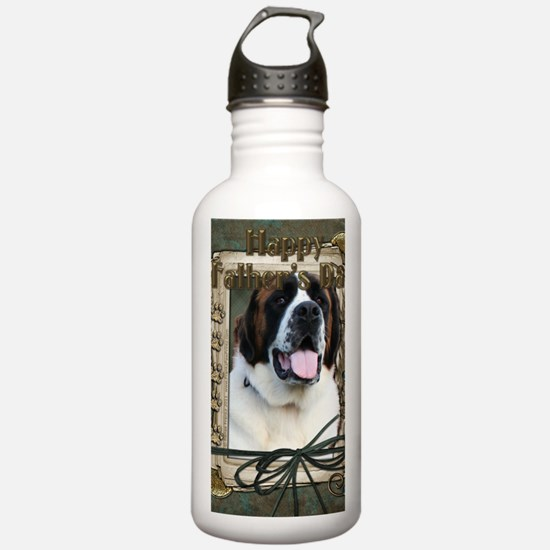 Stone_Paws_St_Bernard_ Water Bottle