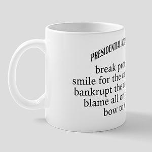 Presidential Accomplishments Mug