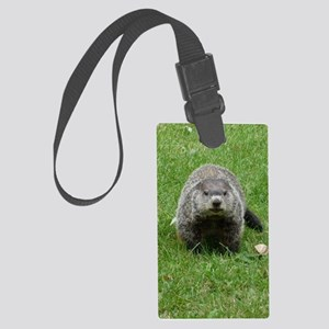 GrHog7.5x9.5 Large Luggage Tag