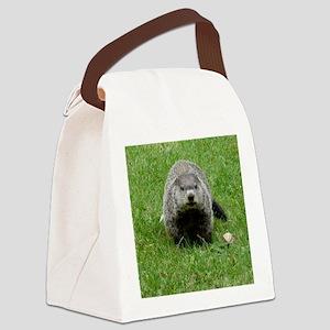 GrHog7.5x9.5 Canvas Lunch Bag