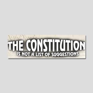 The Constitution Car Magnet 10 x 3