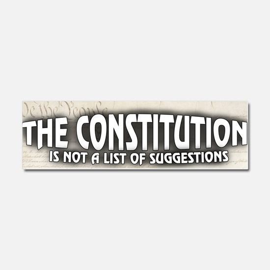 The Constitution Car Magnet 10 x 3