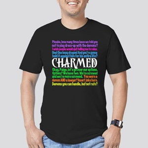 Charmed Quotes Men's Fitted T-Shirt (dark)