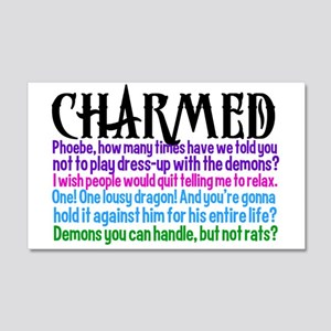 Charmed Quotes 20x12 Wall Decal