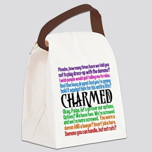 Charmed Quotes Canvas Lunch Bag