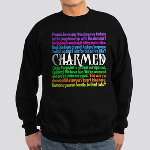 Charmed Quotes Sweatshirt (dark)