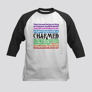 Charmed Quotes Kids Baseball Jersey