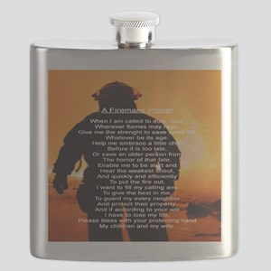 FIREMANS PRAYER Flask