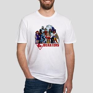 LIBERATORS shirt2010 Fitted T-Shirt