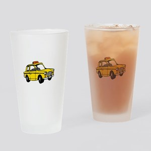 Cabs are here - dk Drinking Glass