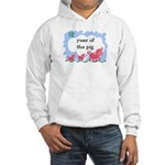 Year of the Pig (picture) Hooded Sweatshirt
