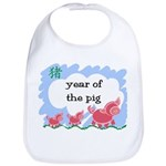 Year of the Pig (picture) Bib