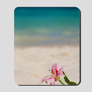 Beach Lily Mousepad