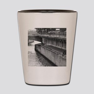 Riverside Picnic Shot Glass
