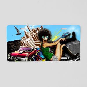 BGRpostcard Aluminum License Plate
