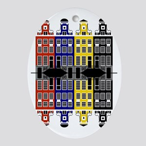 Amsterdam Architecture - Merchants h Oval Ornament