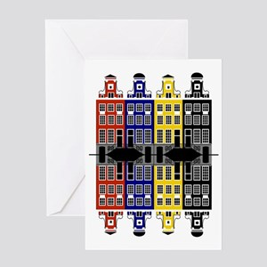 Amsterdam Architecture - Merchants h Greeting Card